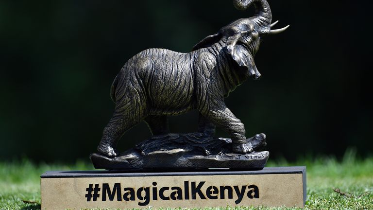The Magical Kenya Open has been played without world feed TV coverage so far this week