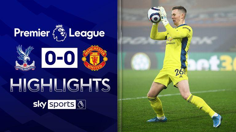 Crystal Palace 0-0 Man Utd