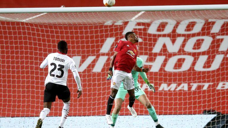 Amad Diallo's superb backwards header put Man Utd ahead