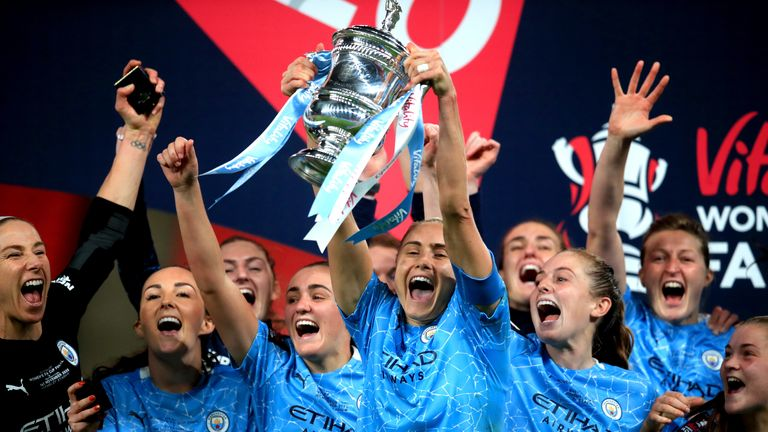PA - Manchester City Women are FA Cup holders