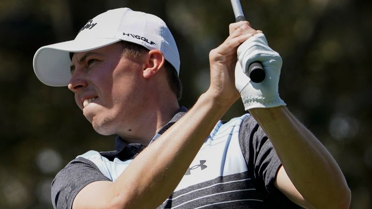 Matt Fitzpatrick sits three strokes off the lead at The Players