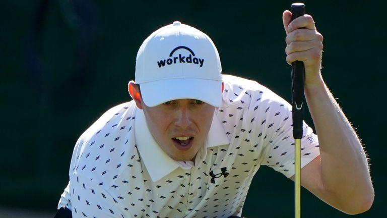 그의 첫 PGA 투어 우승을 쫓는 Matt Fitzpatrick