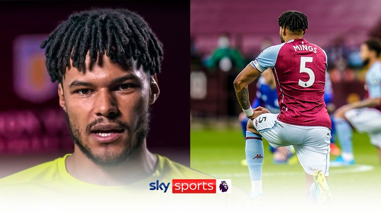 Tyrone Mings discusses the act of taking a knee