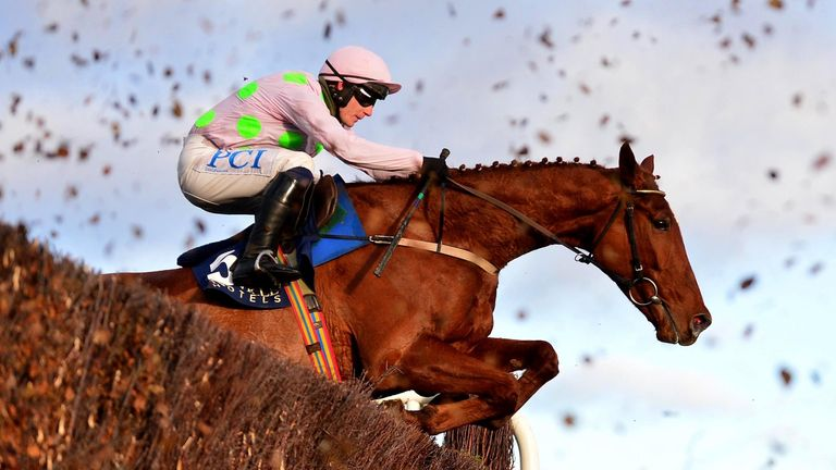 Monkfish, trained by Willie Mullins, is a short-price favourite for Wednesday's Brown Advisory Novices' Chase