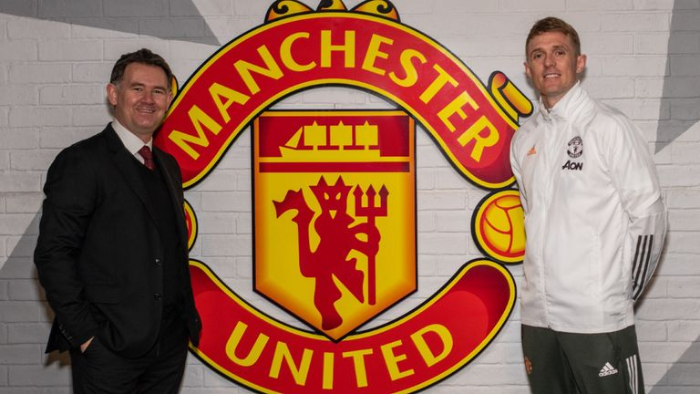 John Murtough and Darren Fletcher