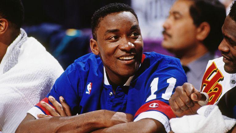 Isiah Thomas at the 1993 All-Star Game