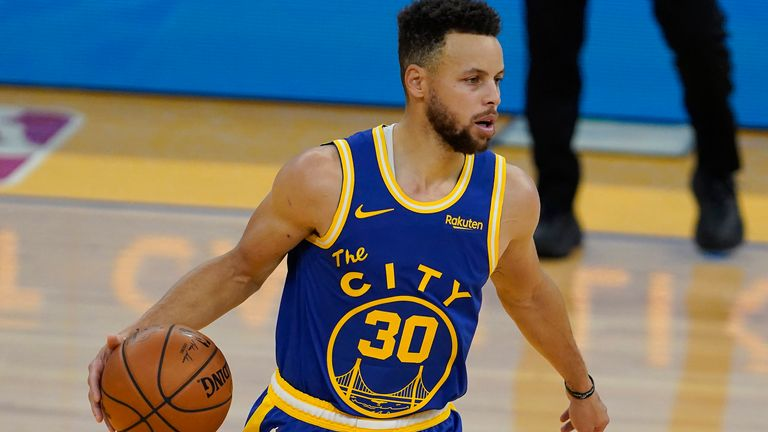 Steph Curry Golden State Warriors End Skid With Victory Over Utah Jazz Nba News Sky Sports