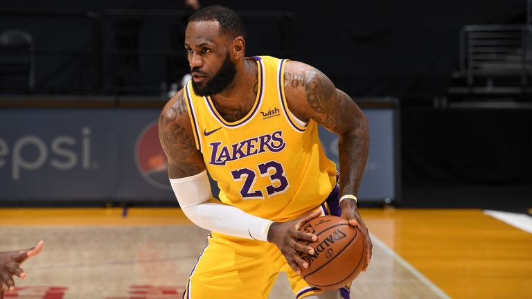 LeBron James' Los Angeles Lakers jersey most popular for second ...