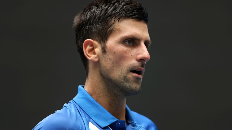 Novak Djokovic moved past Roger Federer to hold the top ranking for the 311th week