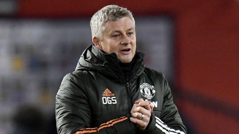 Ole Gunnar Solskjaer after Manchester United's 1-0 win over West Ham on Sunday