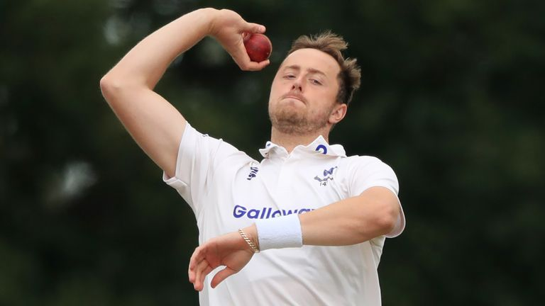 Sussex bowler Ollie Robinson will be looking to impress again as he targets an England Test call-up