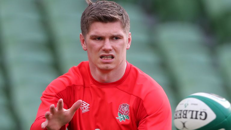 Greenwood says it would be 'almost farcical' for Jones to make a decision now on Owen Farrell's future as captain