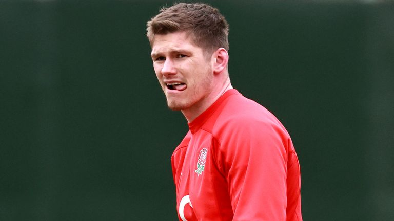 Owen Farrell enters Saturday's clash at Twickenham intent on looking ahead only