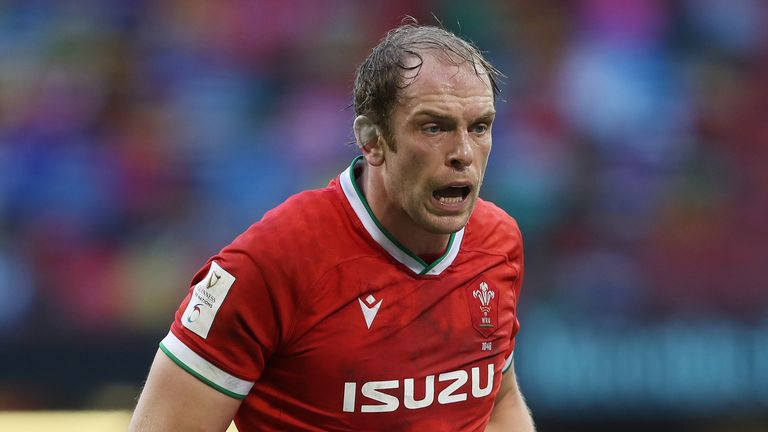 Alun Wyn Jones Jones will become the first player to win four Six Nations Grand Slams if Wales beat France