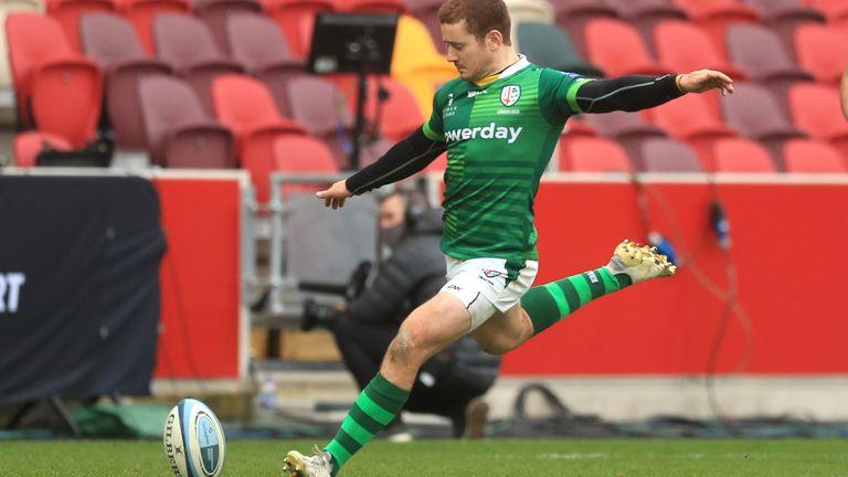 Paddy Jackson's late penalty edged London Irish ahead in west London