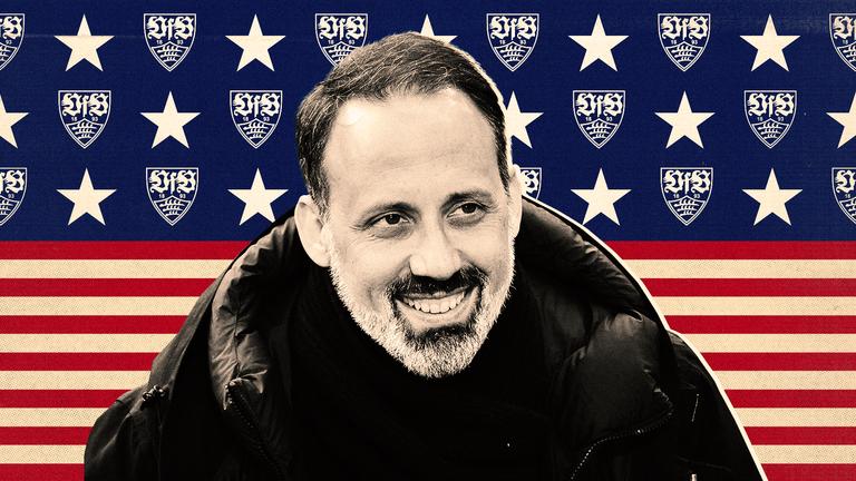 VFB Stuttgart head coach Pellegrino Matarazzo