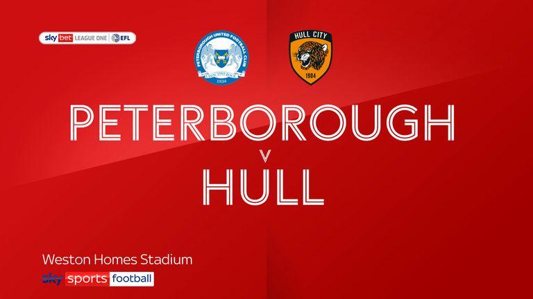 Peterborough v Hull