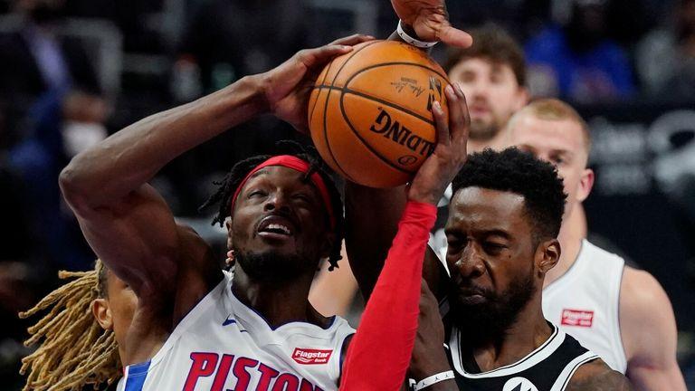 NBA: Pistons v Nets