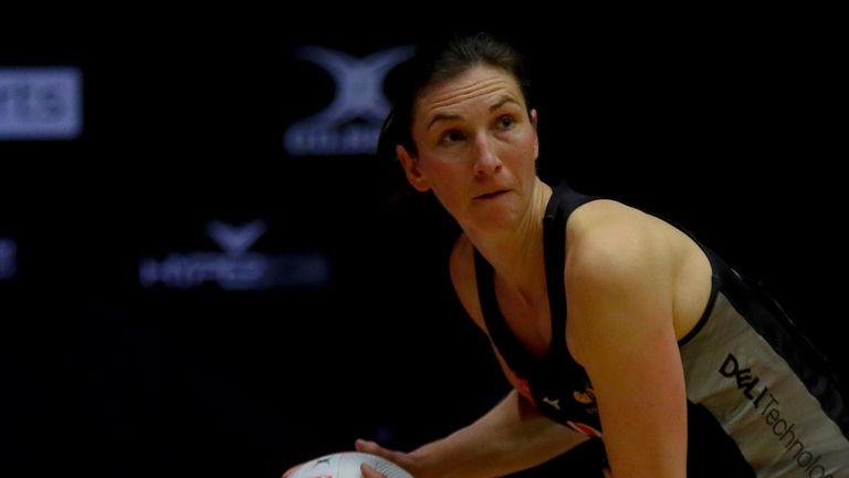 Rachel Dunn of Wasps Netball (Image Credit - Ben Lumley)