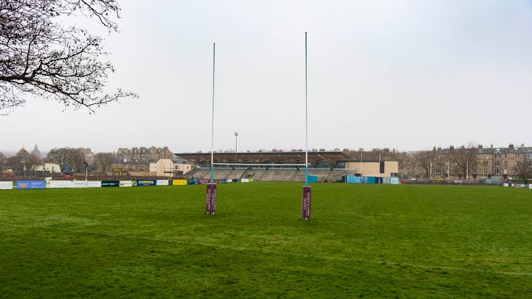 Edinburgh Accies Ground, Raeburn Place