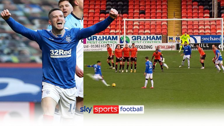 Rangers goals of the season 2020/21