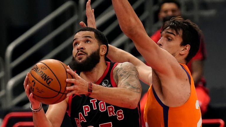 NBA: Raptors v Suns