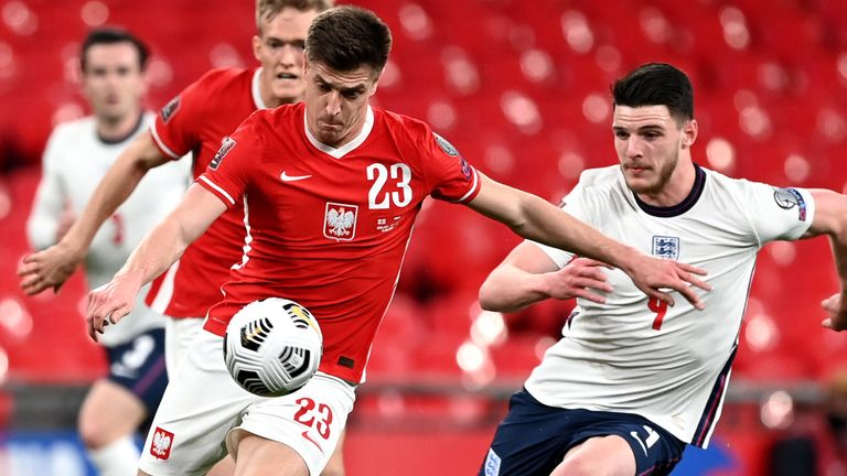 Declan Rice impressed against Poland