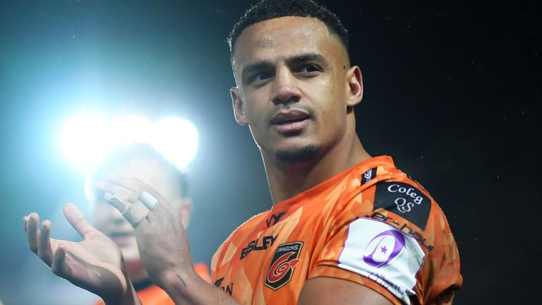 Ashton Hewitt: Twitter permanently suspends account of user who racially  abused Dragons winger | Rugby Union News | Sky Sports