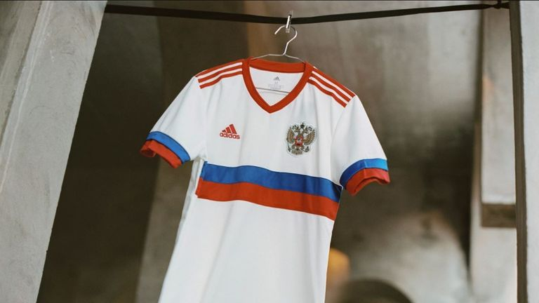 Russia away Euro 2020