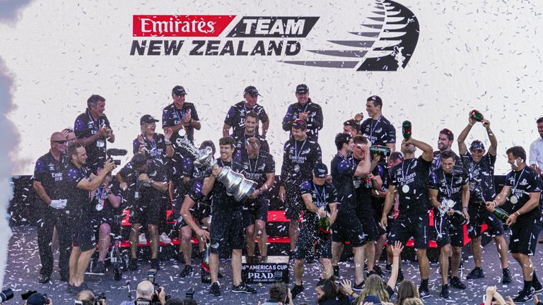 Defending the America's Cup means a huge amount to the team and to the sailing community in New Zealand (Image Credit - ACE 36 | Studio Borlenghi)