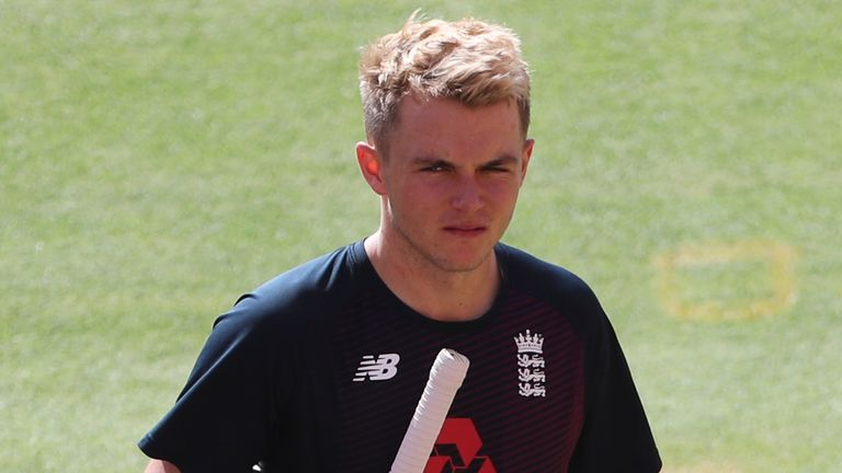 Sam Curran is hoping to cement a place in England's T20 squad ahead of the World Cup later this year