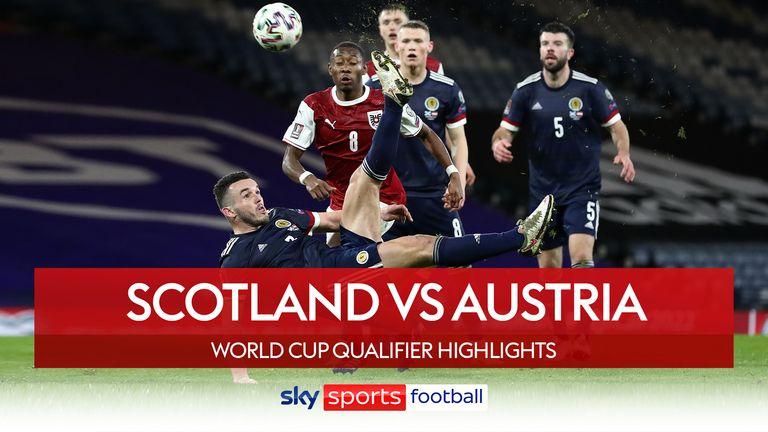 SCOTLAND 2-2 AUSTRIA