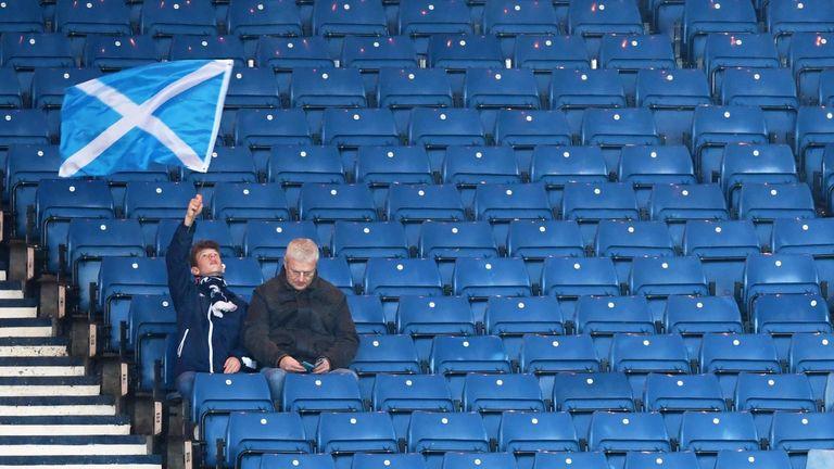 Scotland Hampden Park fans