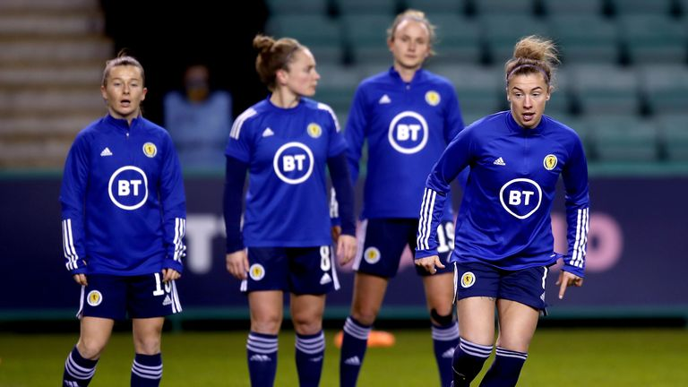 PA - Scotland Women football