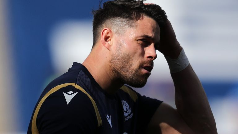 Scotland winger Sean Maitland was left out of the squad for Friday's game