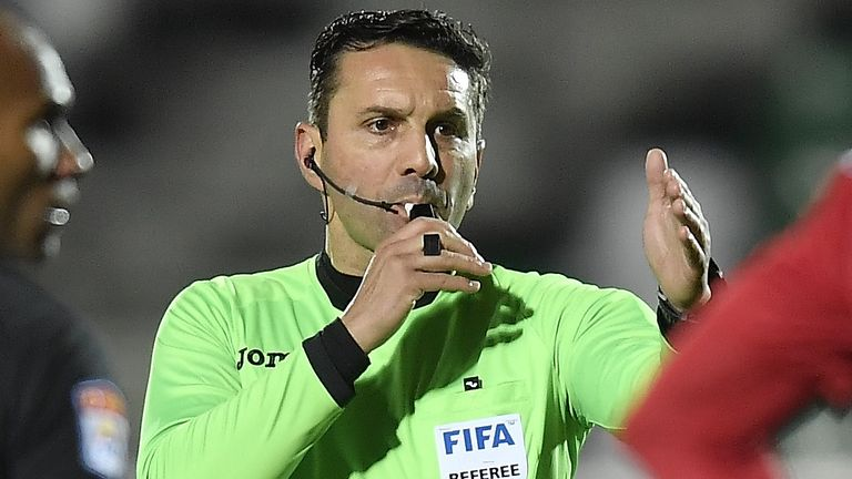 Sebastian Coltescu has been suspended by UEFA