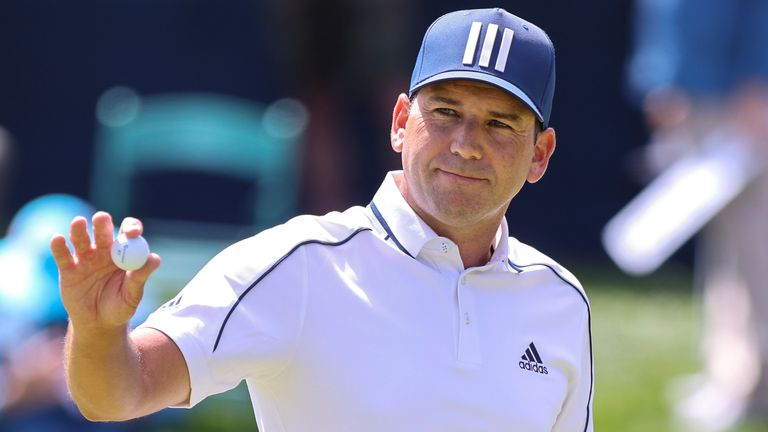 Sergio Garcia tops the leaderboard after the opening round at The Players