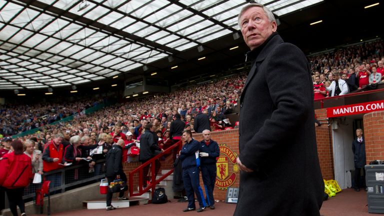 Sir Alex Ferrguson stepped down as Manchester United manager in 2013