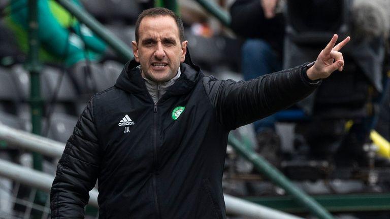 SNS - Celtic interim Manager John Kennedy