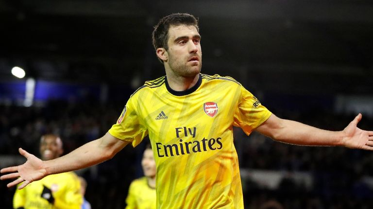 Sokratis Papastathopoulos will face his former club this week