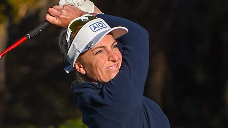 Women's Open champion Sophia Popov fired a 68 to leap into second place