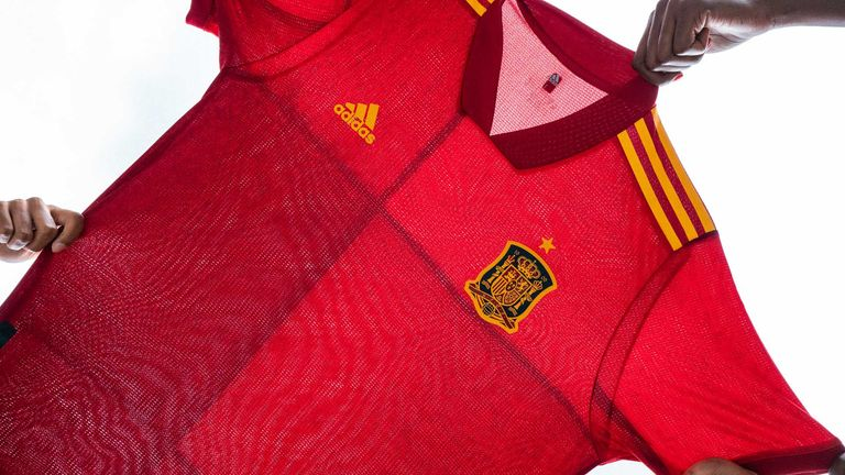 Spain home (credit: adidas)