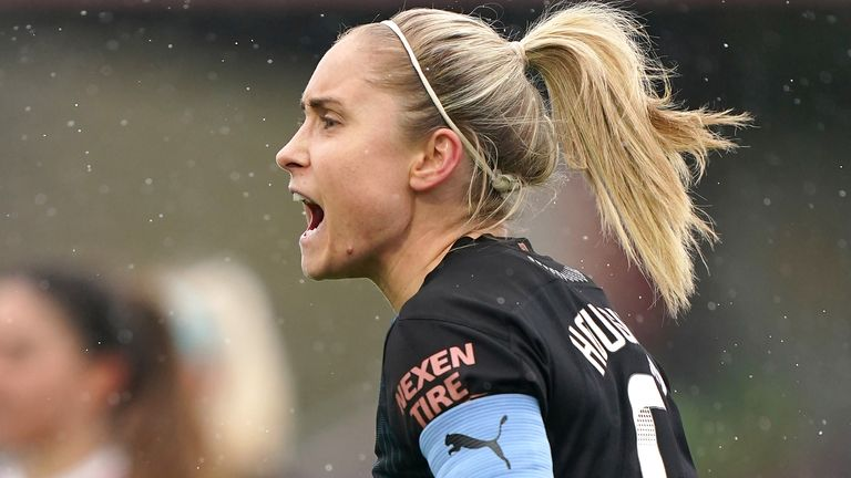 Manchester City captain Steph Houghton (PA)