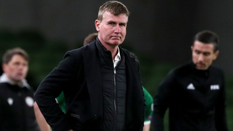 Republic of Ireland manager Stephen Kenny (PA)