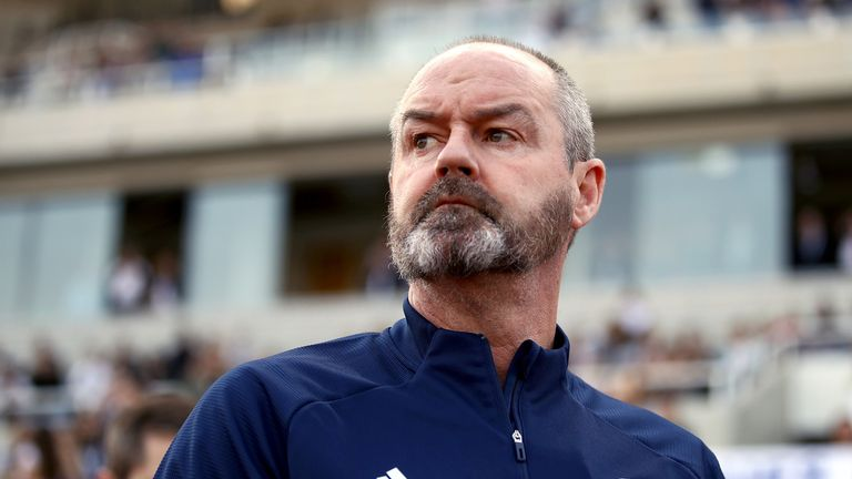 File photo dated 16-11-2019 of Scotland manager Steve Clarke during the UEFA Euro 2020 Qualifying match at the GSP Stadium, Nicosia