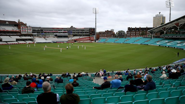 The Oval cricket ground will hopefully see the return of fans during the 2021 season