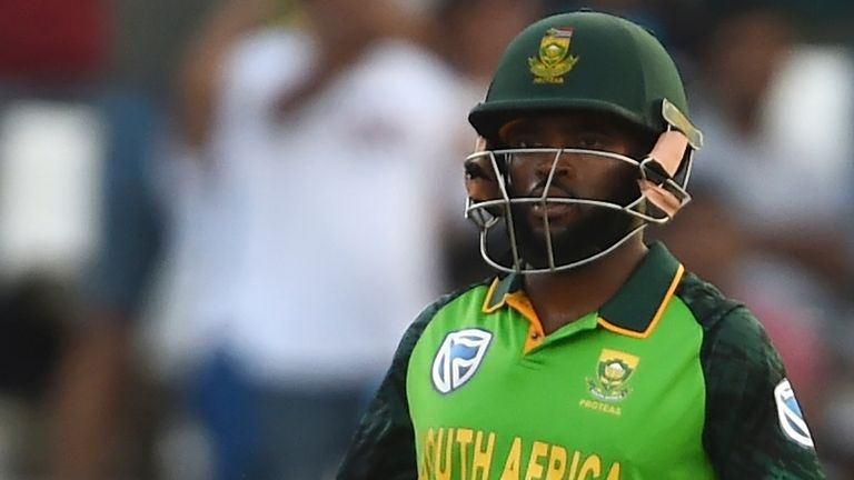Temba Bavuma has been named as South Africa's new limited-overs captain