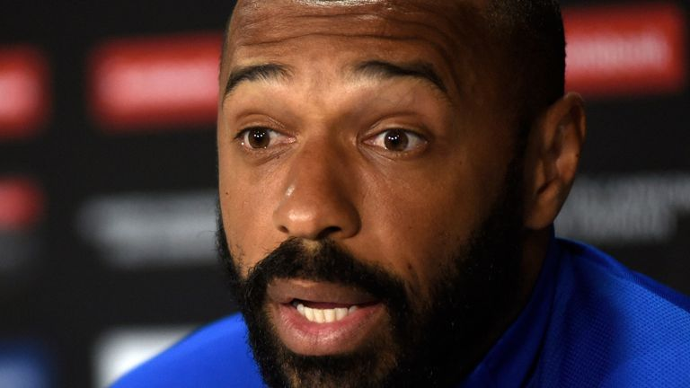 Thierry Henry says he will only return to social media when it is safe to do so