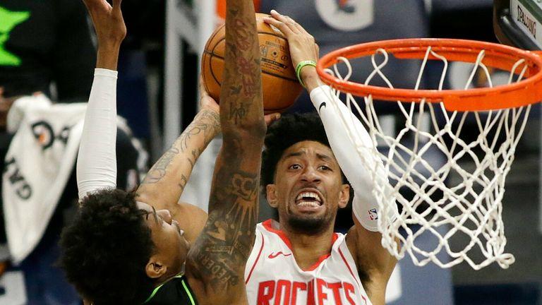 NBA: Timberwolves v Rockets