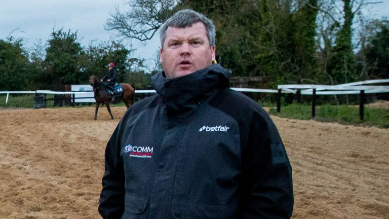 Irish trainer Gordon Elliott